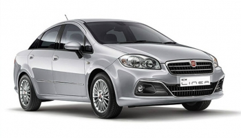 Hire an FIAT LINEA TAXI in Goa
