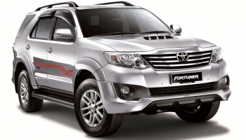 Hire an Toyota Fortuner in Goa