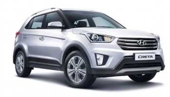 Hire an HYUNDAI CRETA in Goa