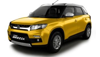 Hire an Suzuki Vitara Brezza in Goa