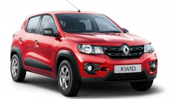 Hire an RENAULT KWID SELF DR in Goa