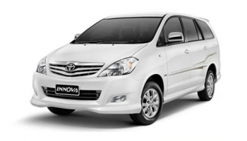 Hire an A/C Toyota Innova in Goa