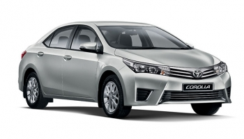Hire an Toyota Corolla  in Goa