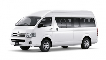 Hire an Toyota HiAce in Goa