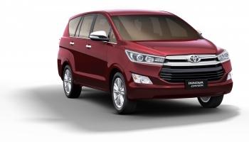 Hire an Toyota Innova Crysta in Goa