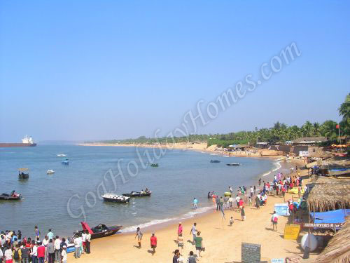 Aguada Beach in Goa