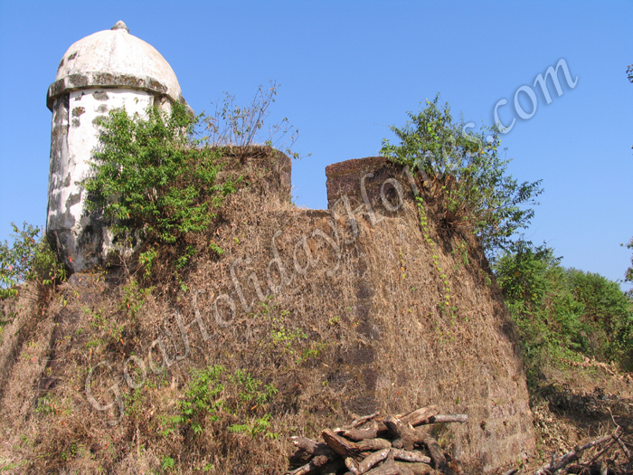 Alorna Fort in Goa