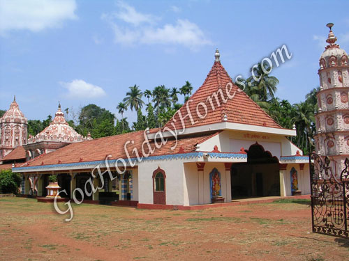 Ananta Temple at Savoi Verem in Goa