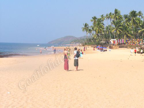 Anjuna Beach In Goa in Goa
