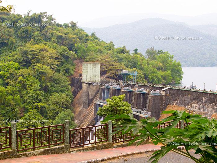 Anjunem Dam in Goa