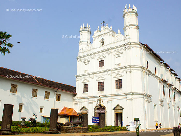 The Archaeological Museum  in Goa