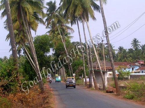 Arpora Village