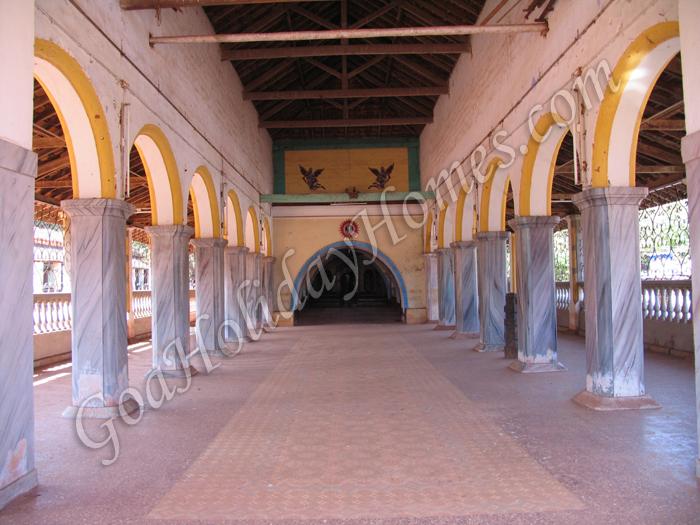 Bhagavati Temple Interior