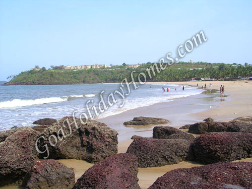 Bogmalo Beach in Goa