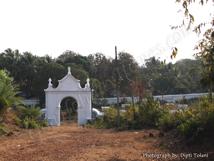 British Cemetery in Goa in Goa