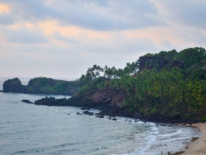 Cabo De Rama Beach  in Goa