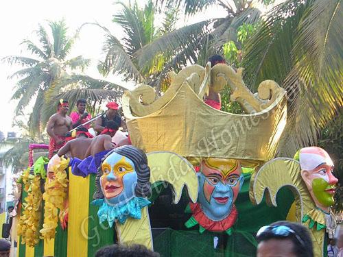 Carnival in Calangute