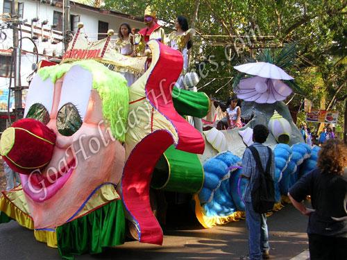 Carnival in Goa in Goa