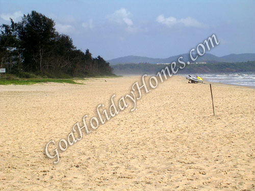Cavelossim Beach in Goa