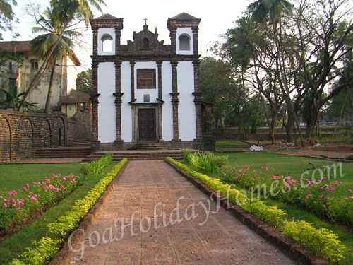 Chapel of St Catherine in Goa