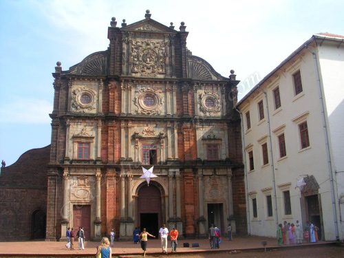 Churches in Goa in Goa