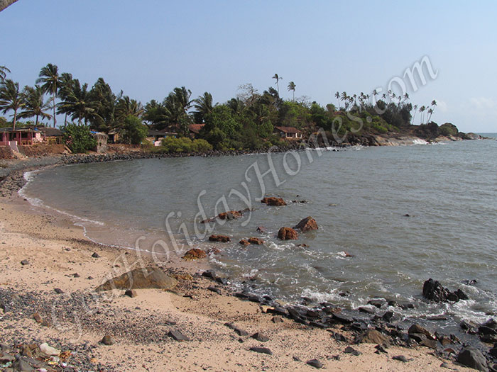 Colom beach in Goa