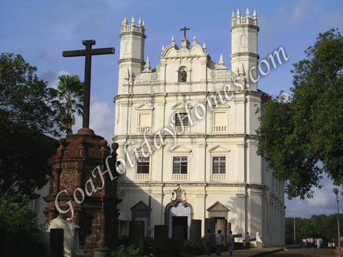 Convent & Church Of St Francis Of Assisi in Goa