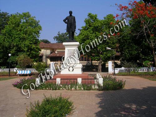 Francisco Luis Gomes Garden in Goa