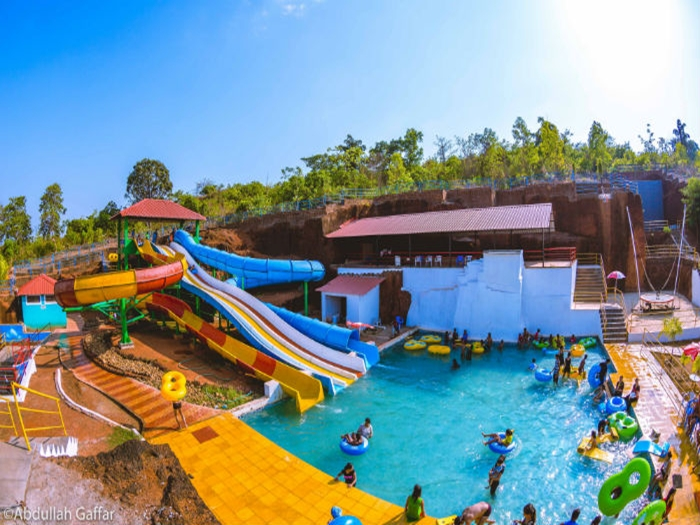 Froggyland the Water World Amusement & Waterpark in Goa
