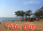 Video clip of Calangute Beach In Goa