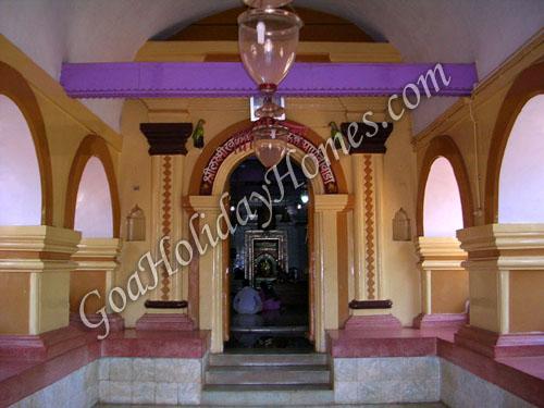 Laxmi Ravalnath Temple Marcel in Goa