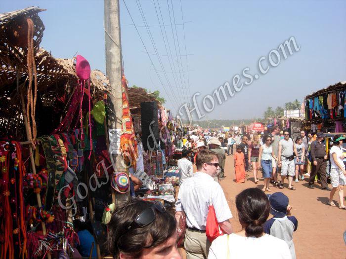 Anjuna Flea Market in Goa