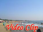 Video clip of Baga Beach