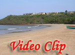 Video clip of Bogmalo Beach