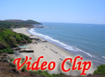 Video clip of Chapora Beach