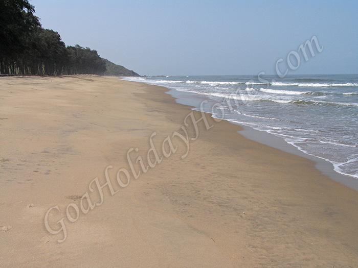 Keri Beach in Goa