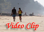 Video clip of Majorda Beach