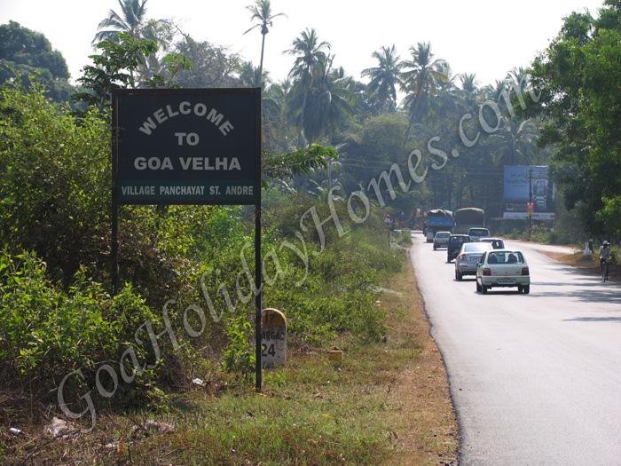 Goa Velha in Goa