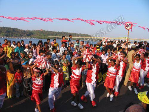 Carnival in Goa 2008 in Goa