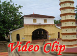 Video clip of Shri Shantadurga temple at Dhargalim