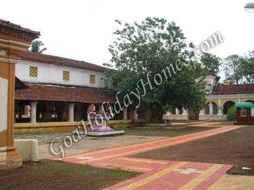 Shri Shantadurga temple at Dhargalim  in Goa