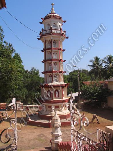 Kalika Devi temple at Kansarpal in Goa