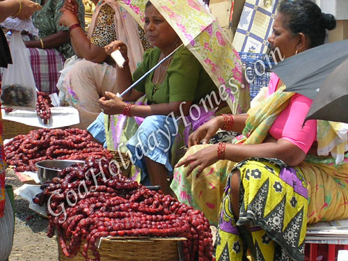 Mapusa Market in Goa