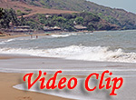Video clip of Anjuna Beach In Goa