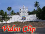 Video clip of Panjim Church