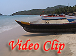 Video clip of Palolem Beach In Goa