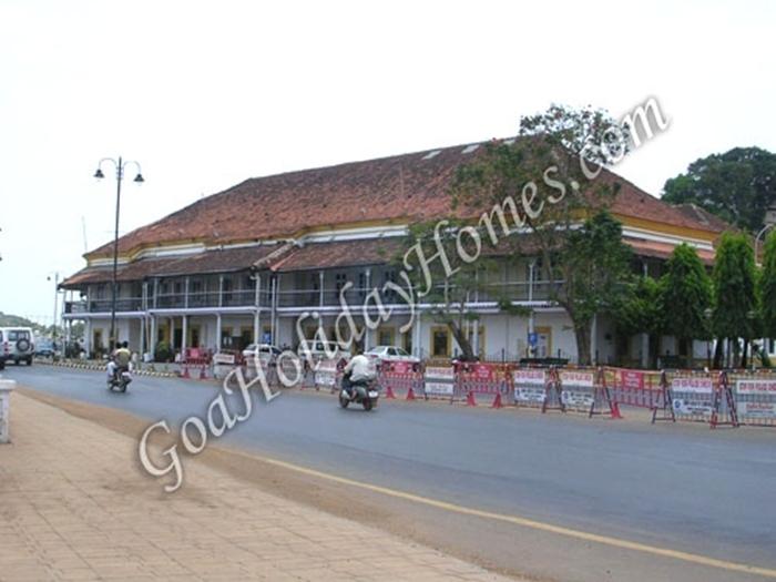 The Idalcao Palace in Goa