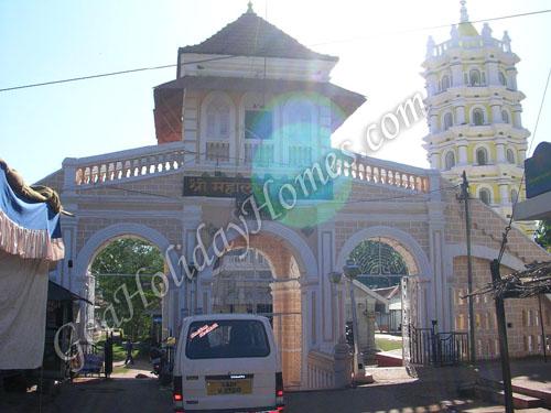 Shri Mahalsa Temple in Goa