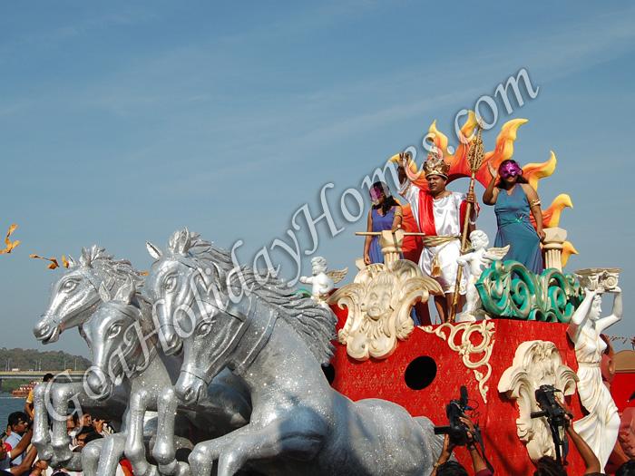 Carnival in Goa 2009 in Goa