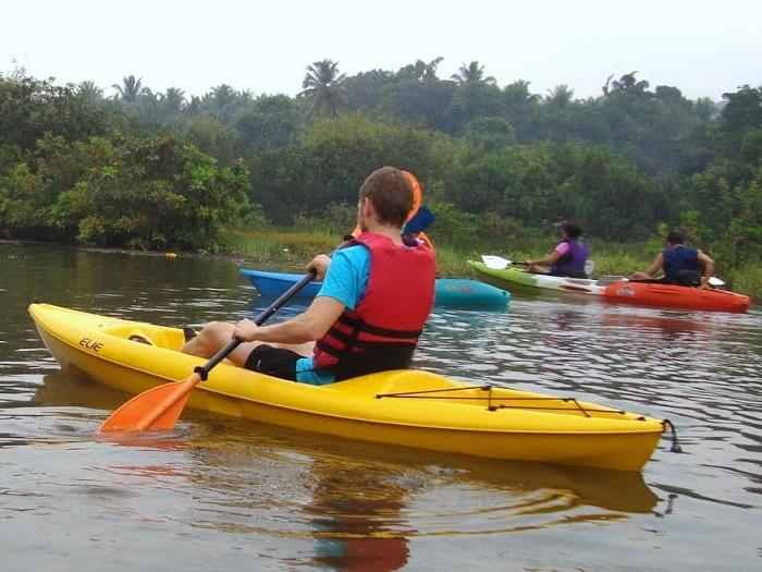Goa Kayaking - Day Tours in Goa